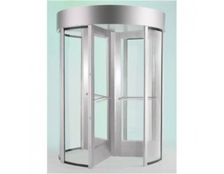 Revolving Glass Turnstiles